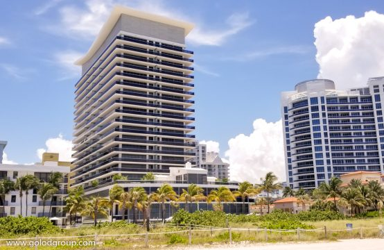 Miami Beach oceanfront condos for sale | Golod Group