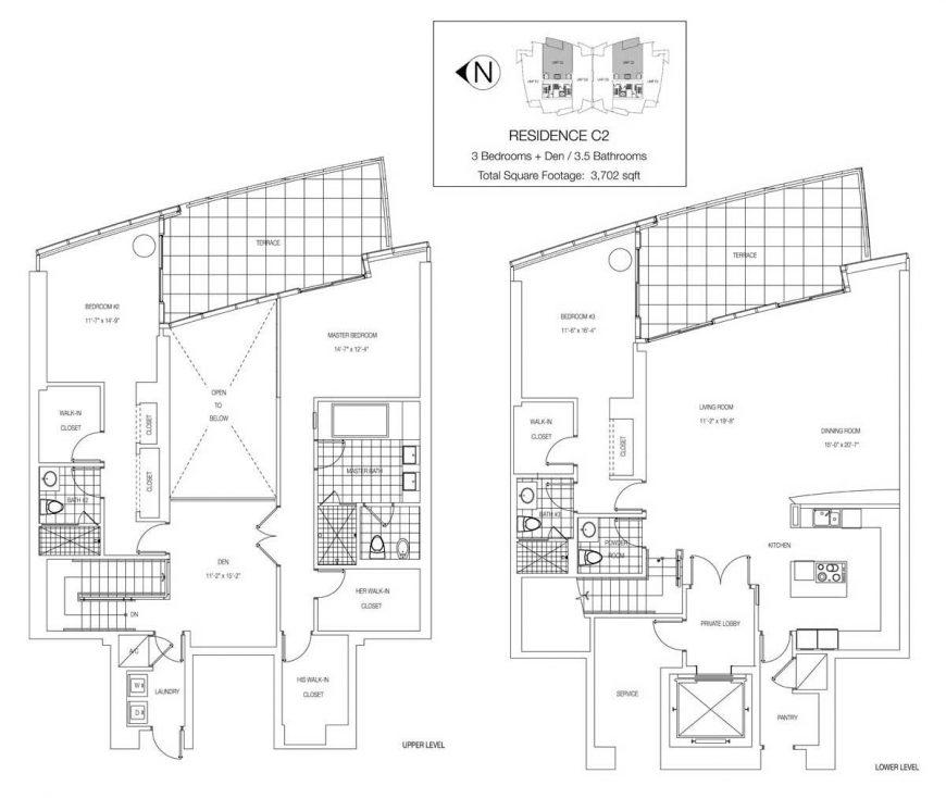 Jade Ocean Floor Plan Penthouse